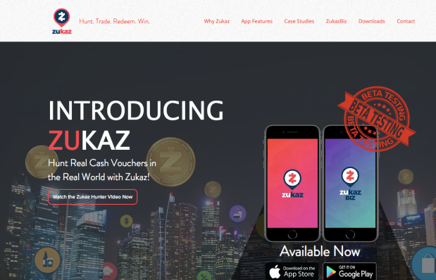 Website Zukaz hunter